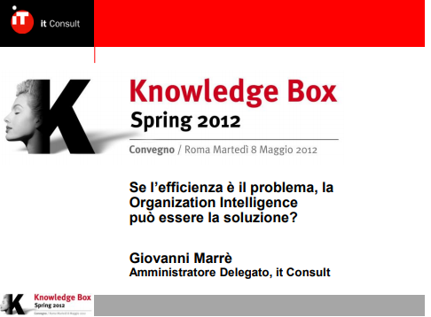 KBox- Giovanni Marrè - OI