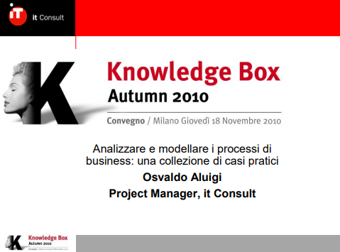 Processi di business - it consult