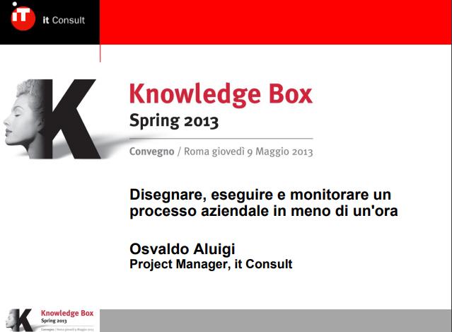 KBox - Osvaldo Aluigi