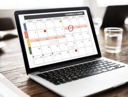 processo gestione calendario aziendale